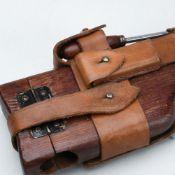 Holzschulterstütze