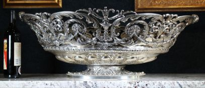 Monumental 511.93 OZT Sterling Tiffany Centerpiece