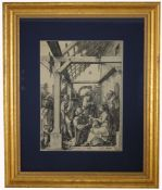 Albrecht Durer (German, 1471-1528) Woodcut