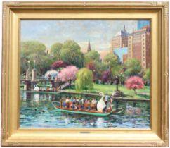 Donald Mosher (1945 - 2014) Boston Public Garden