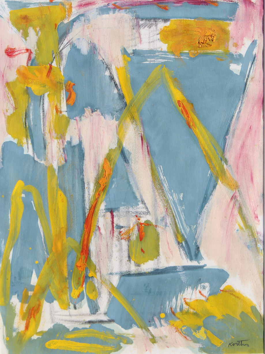 """Thomas Koether (NY, FL b. 1940) """"Plan for Caper"""" - Image 3 of 4"""