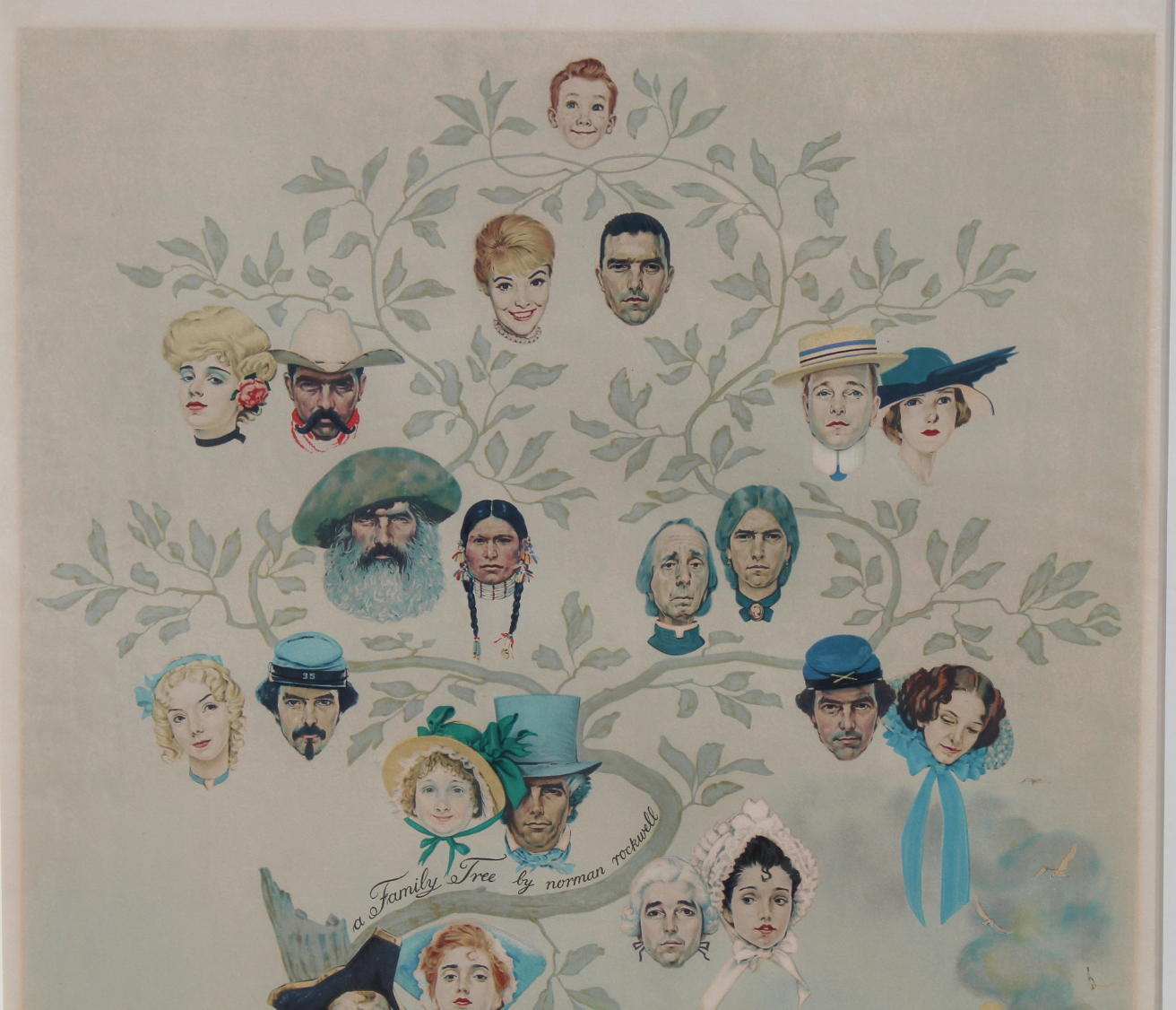 """Norman Rockwell """"Family Tree"""" - Image 3 of 5"""