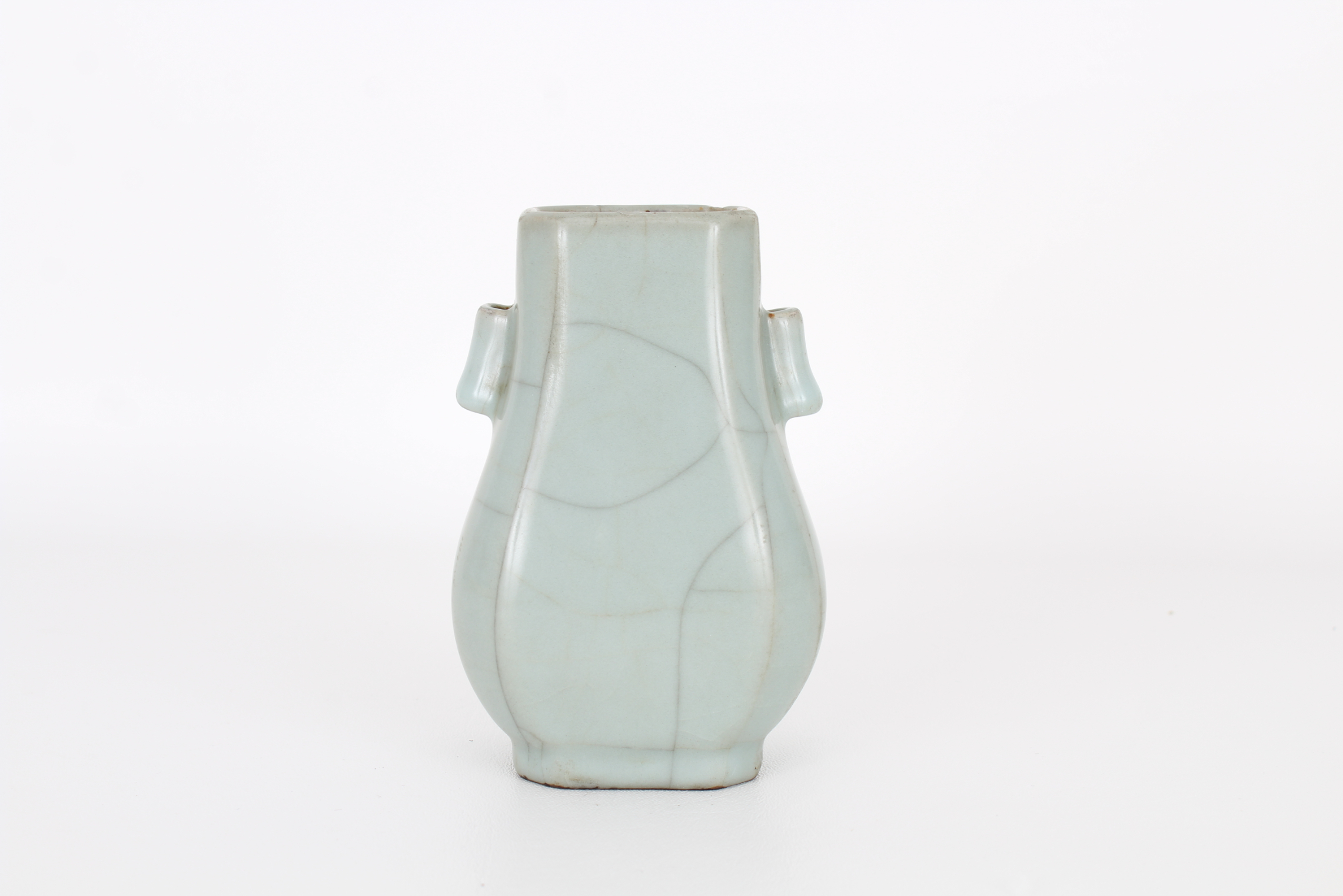 Chinese Guan-Type Vase, Qianlong Mark - Image 3 of 5