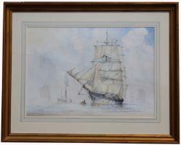 J. Terry Culpan (20th C.) Watercolor