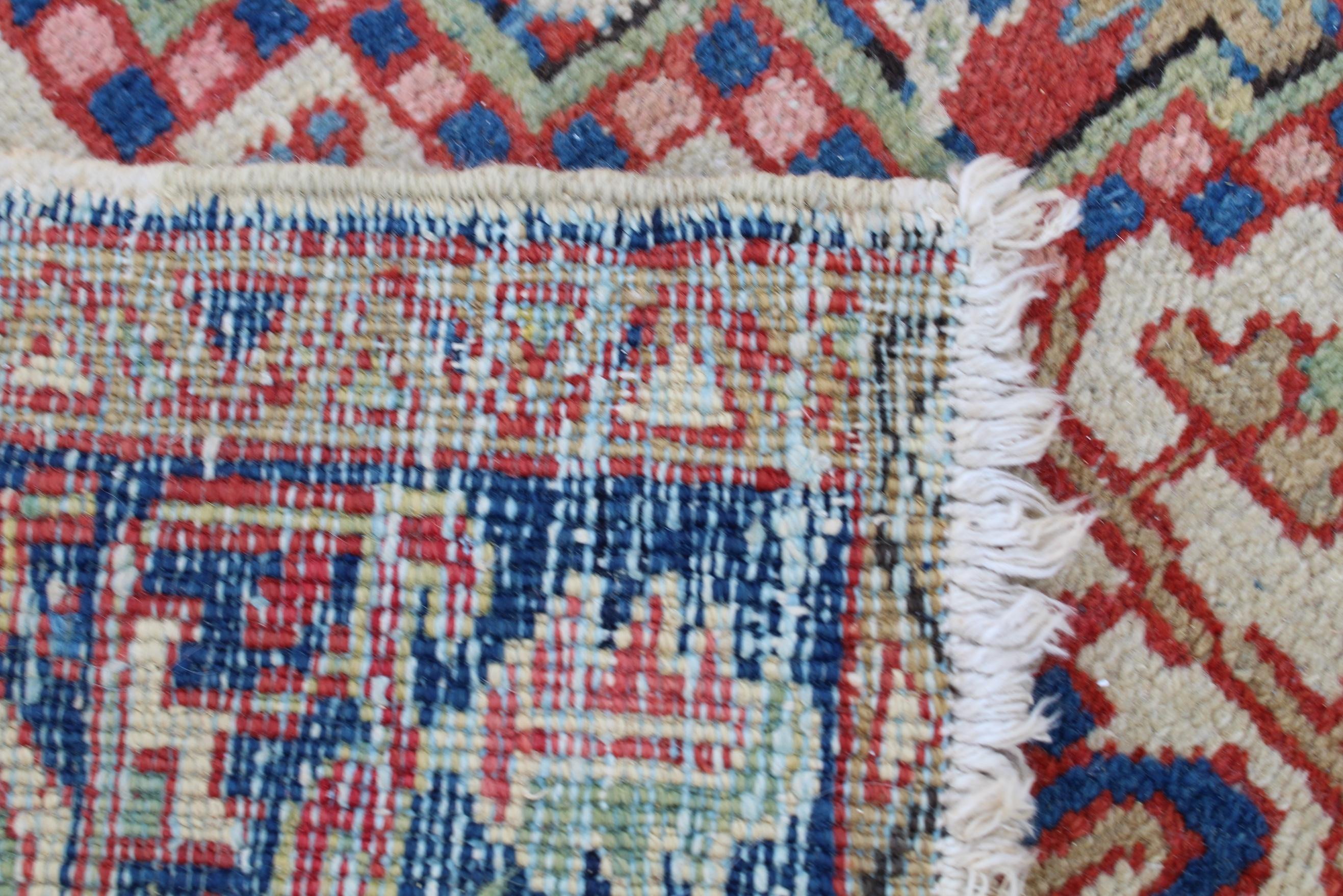 Antique Heriz Rug - Image 4 of 4