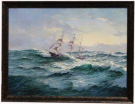 Ian Hansen (Australia, B 1948) Monumental Seascape