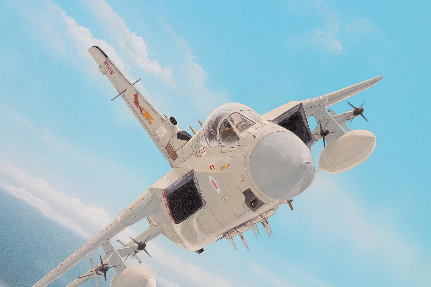 """Steve Ferguson (B. 1946) """"Tornado F.MK3"""" Original - Image 3 of 6"""