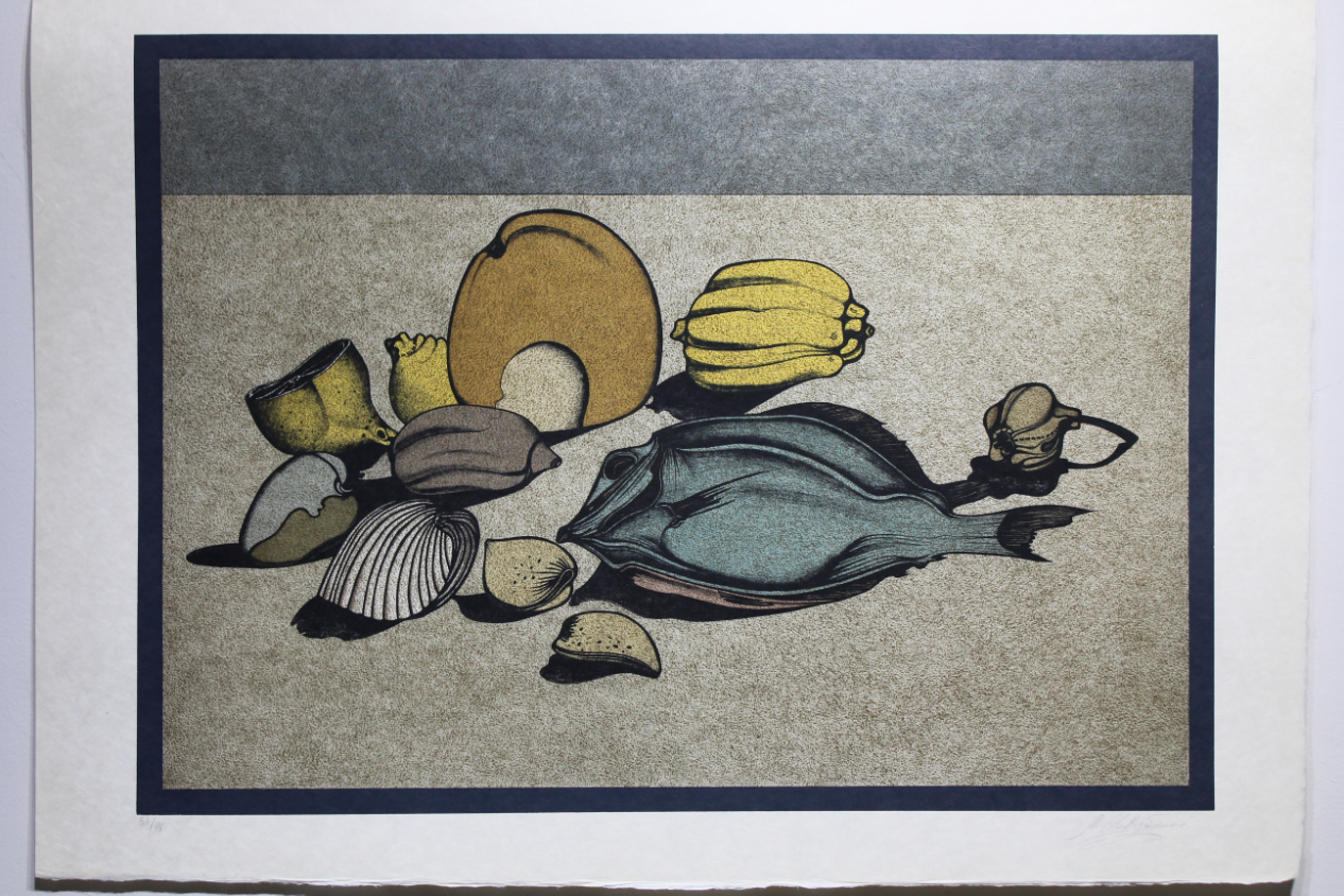 "Mihail Chemiakin ""Nature Morte w/ Fish"" (54/78) - Image 4 of 4"
