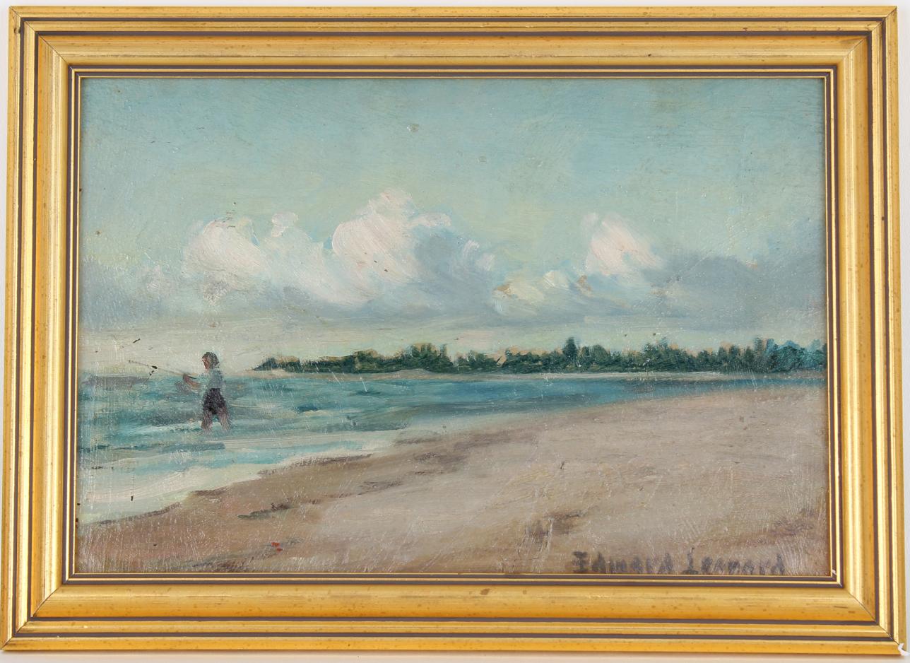 Edward Leonard (NY,FL, 1901 - 1968) Sarasota FL