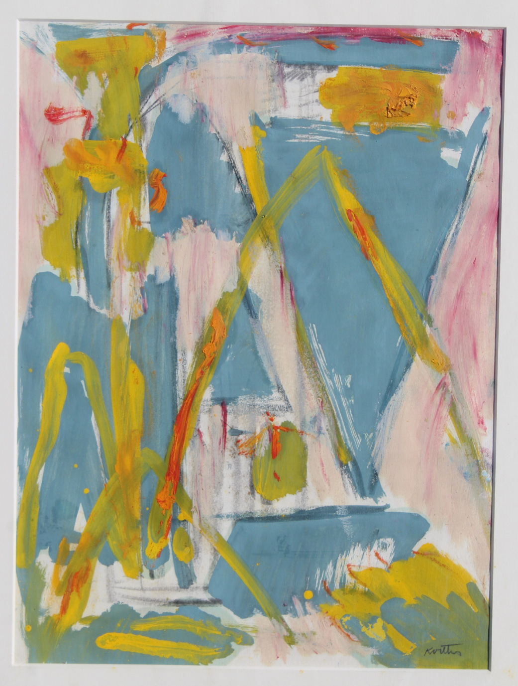 "Thomas Koether (NY, FL b. 1940) ""Plan for Caper"""