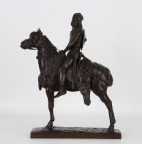 """Emmanuel Fremiet (1824 - 1910) """"Chef Gaulois"""""""
