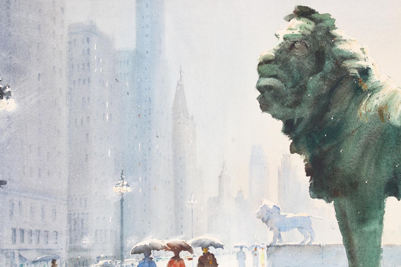 Herbert Olsen (1905-1973) Art Institute of Chicago - Image 3 of 4