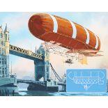 """Charles Knotek (1933 - 2008) """"British Airship"""""""