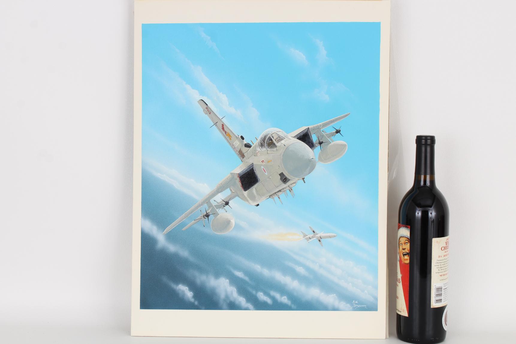 """Steve Ferguson (B. 1946) """"Tornado F.MK3"""" Original - Image 2 of 6"""