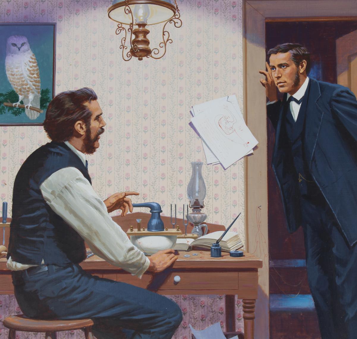 "Ed Vebell (1921 - 2018) ""Bell Patents Telephone"""