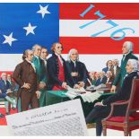 Ed Vebell (1921-2018) Declaration of Independence