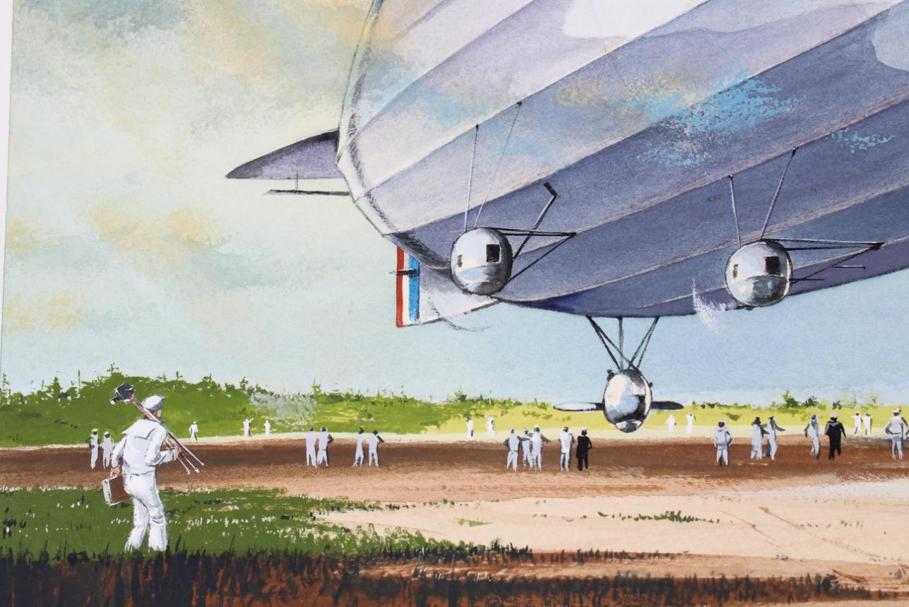 "Charles Knotek (1933 - 2008) ""US Airship"" - Image 4 of 6"