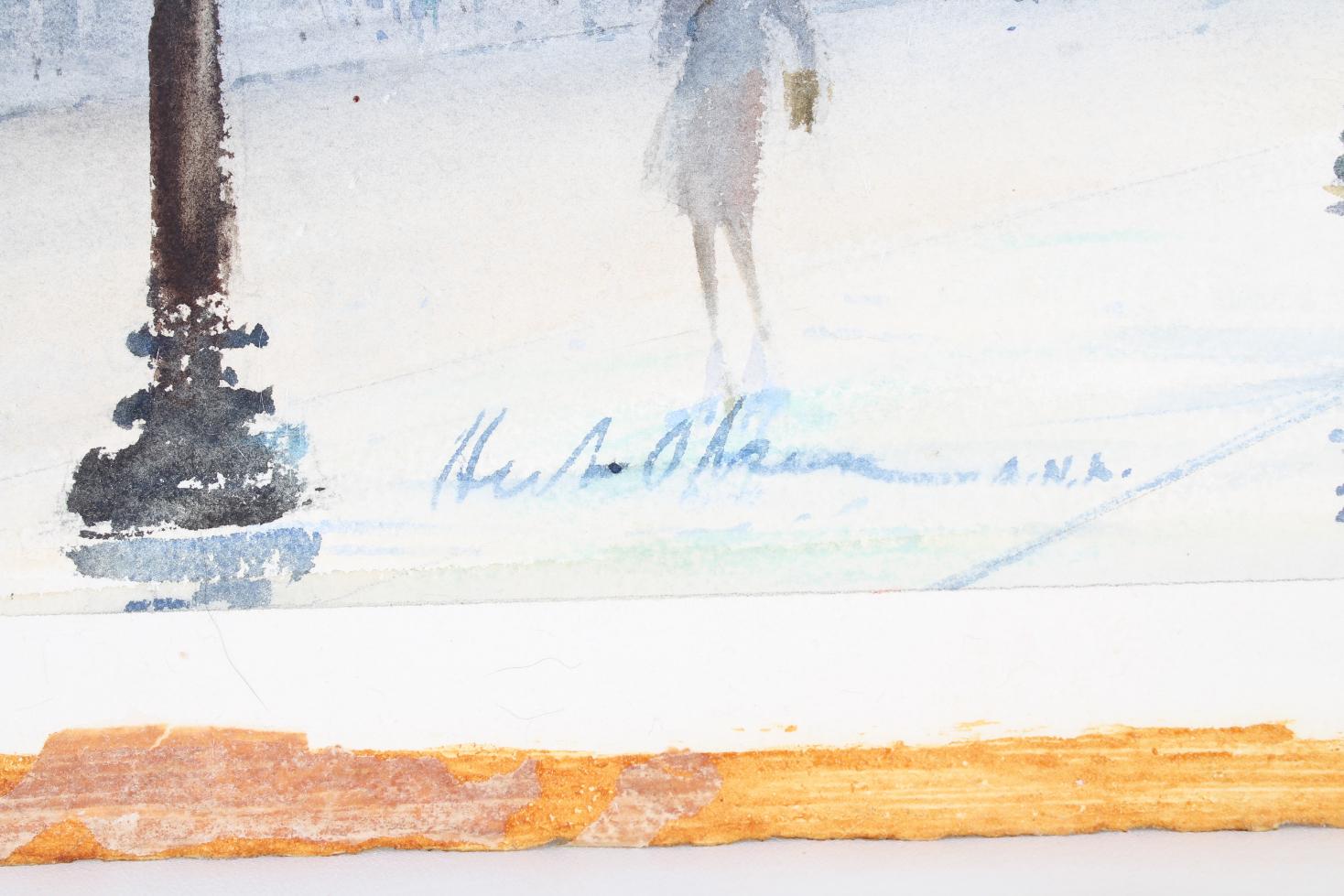 Herbert Olsen (1905-1973) Art Institute of Chicago - Image 4 of 4