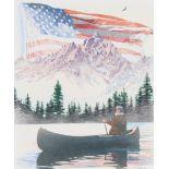 "Jim Butcher (B. 1944) ""Purple Mountains Majesty"""