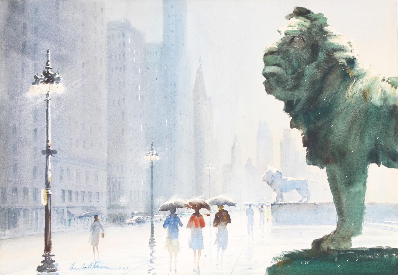 Herbert Olsen (1905-1973) Art Institute of Chicago