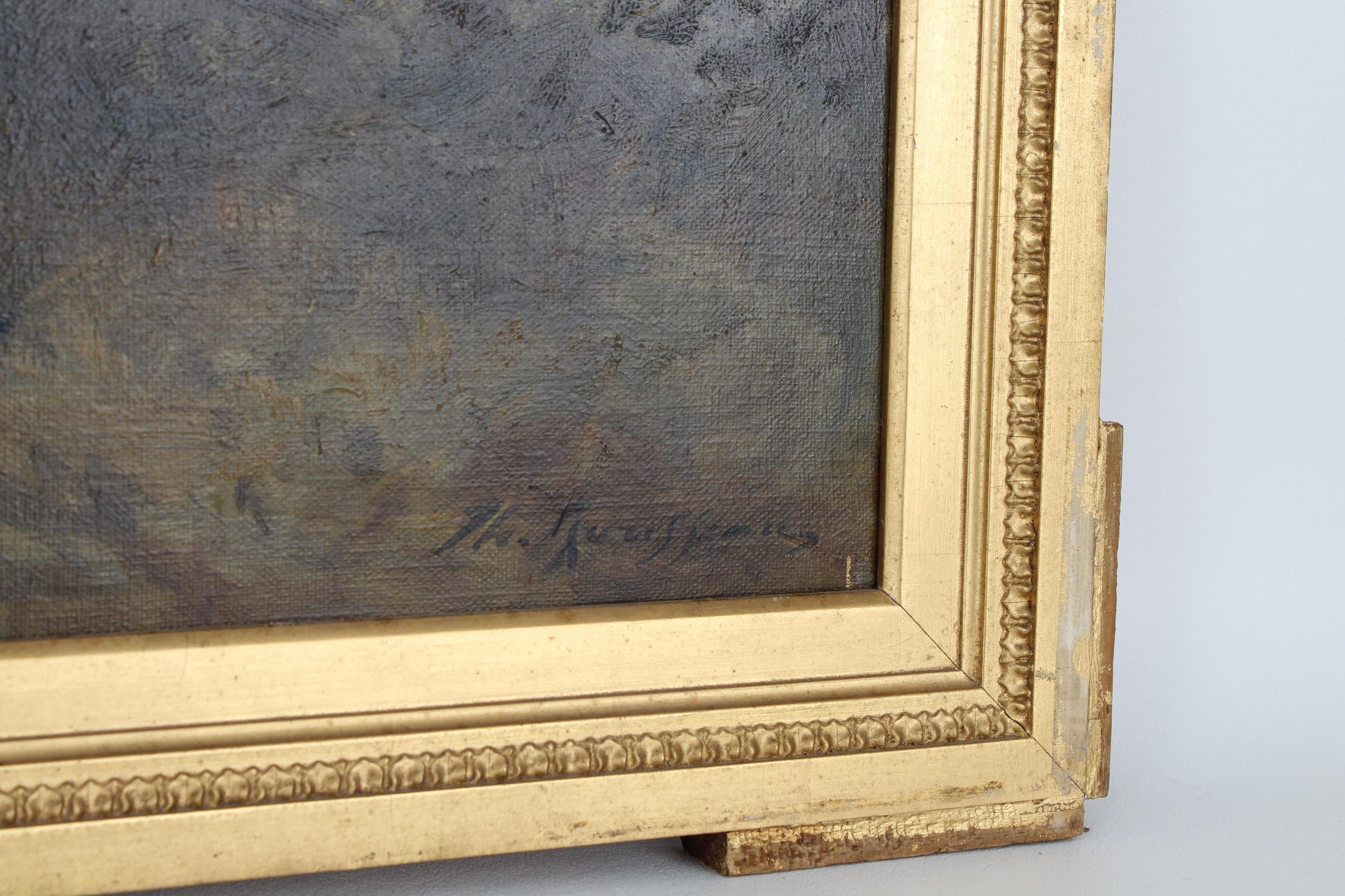 Attr. Theodore Rousseau (1812 - 1867) Barbizon - Image 4 of 6