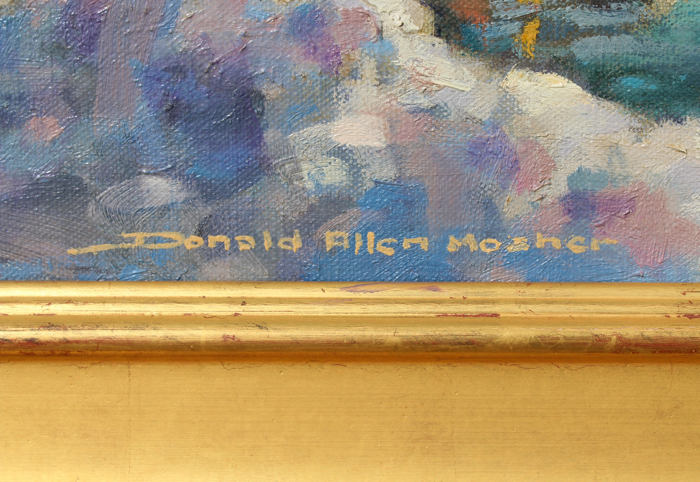 "Donald Allen Mosher (1945 - 2014) ""April Surprise"" - Image 5 of 7"