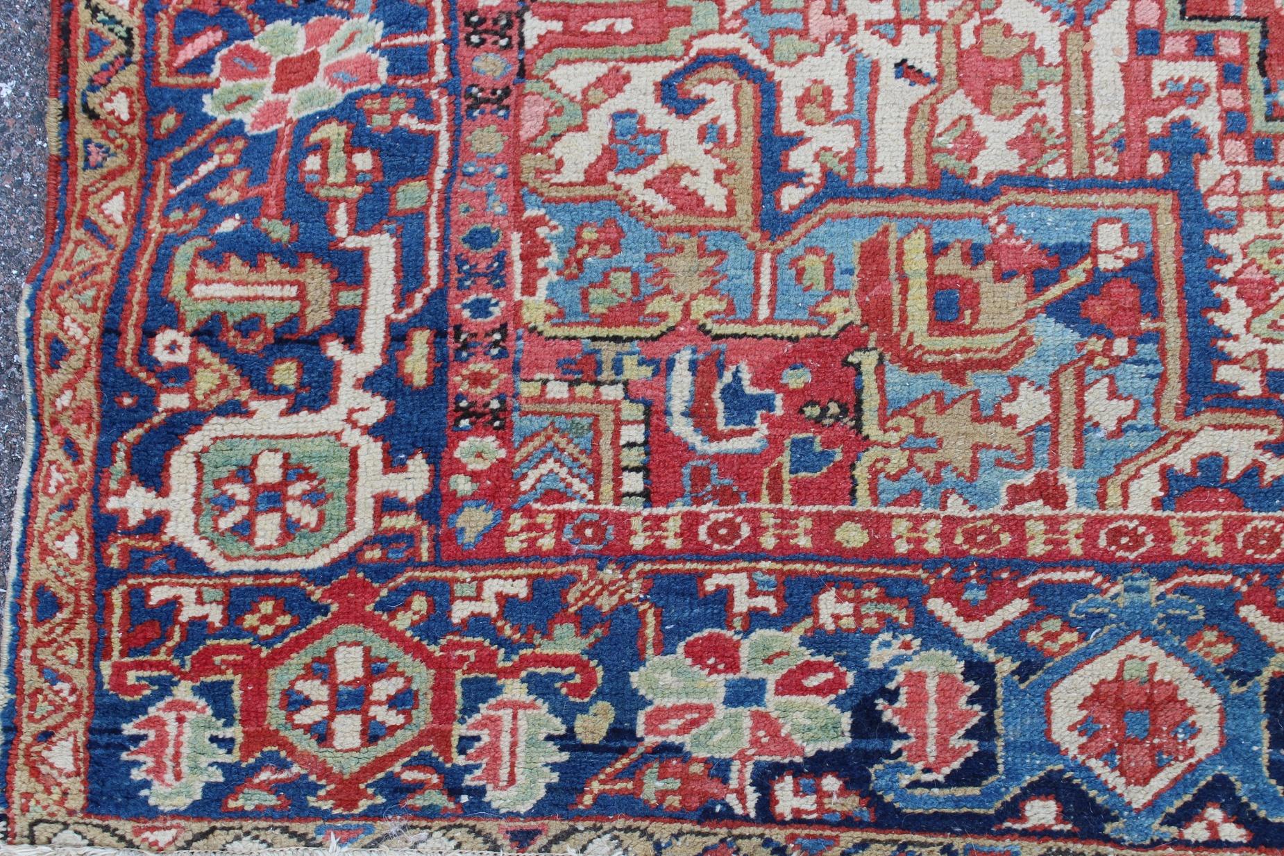 Antique Heriz Rug - Image 3 of 4