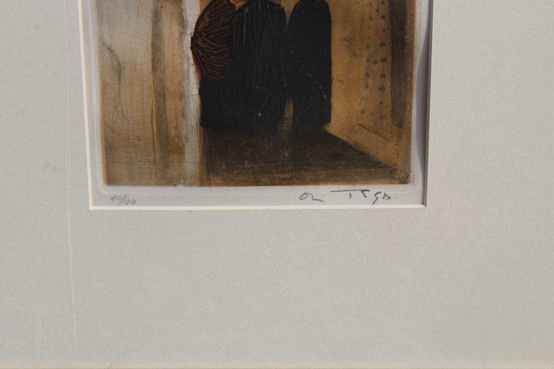 Jose Ortega (Spain, 1921- 1991) Etching - Image 3 of 3