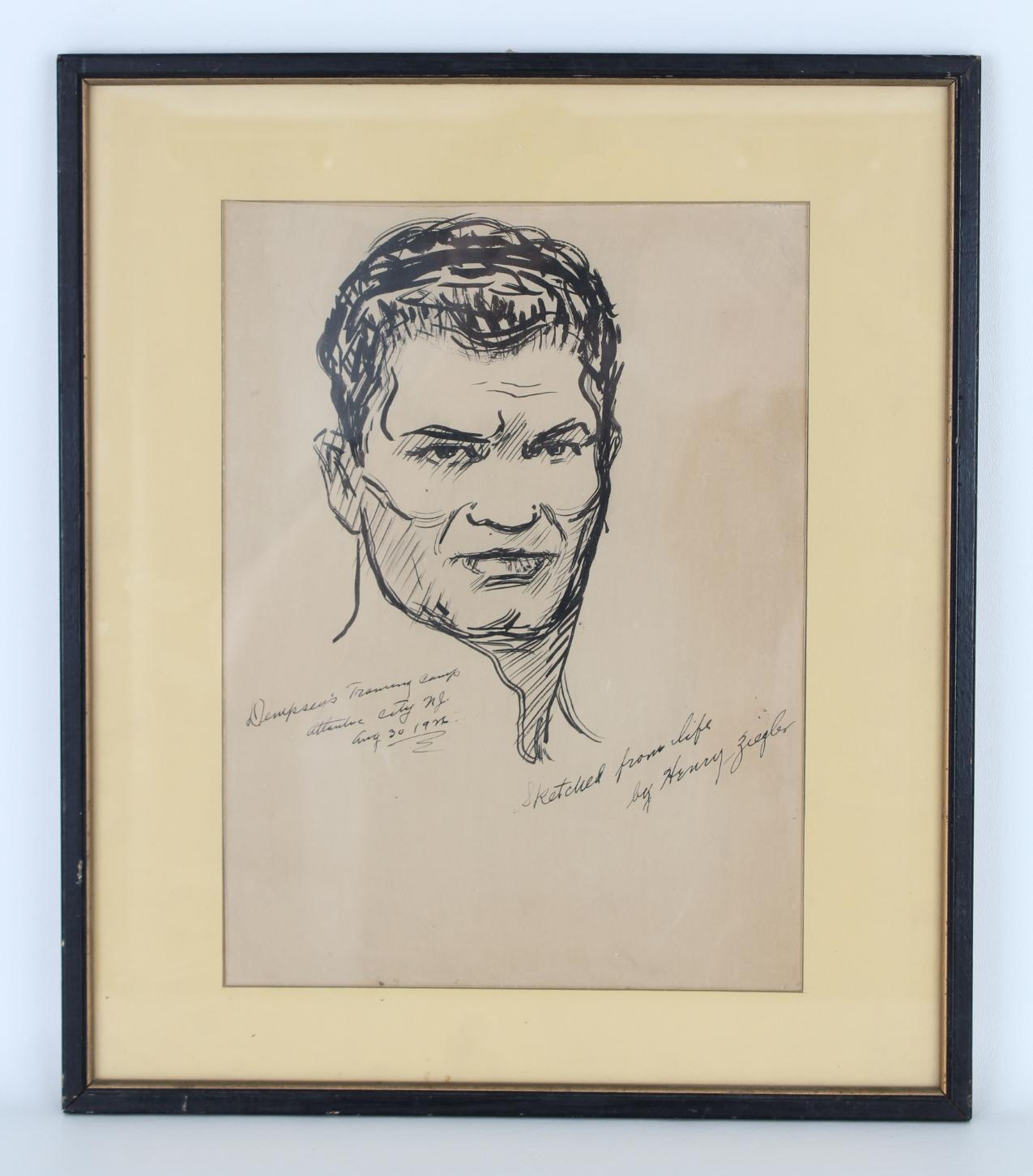 "Henry Ziegler (1889 - 1968) ""Jack Dempsey"" - Image 2 of 5"
