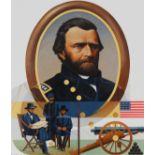 "Howard Koslow (1924 - 2016) ""Ulysses S. Grant"" Oil"