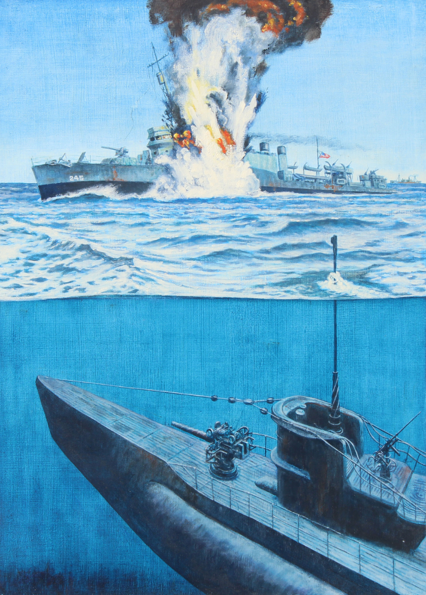 David K. Stone (1922 - 2001) USS Reuben James Sunk
