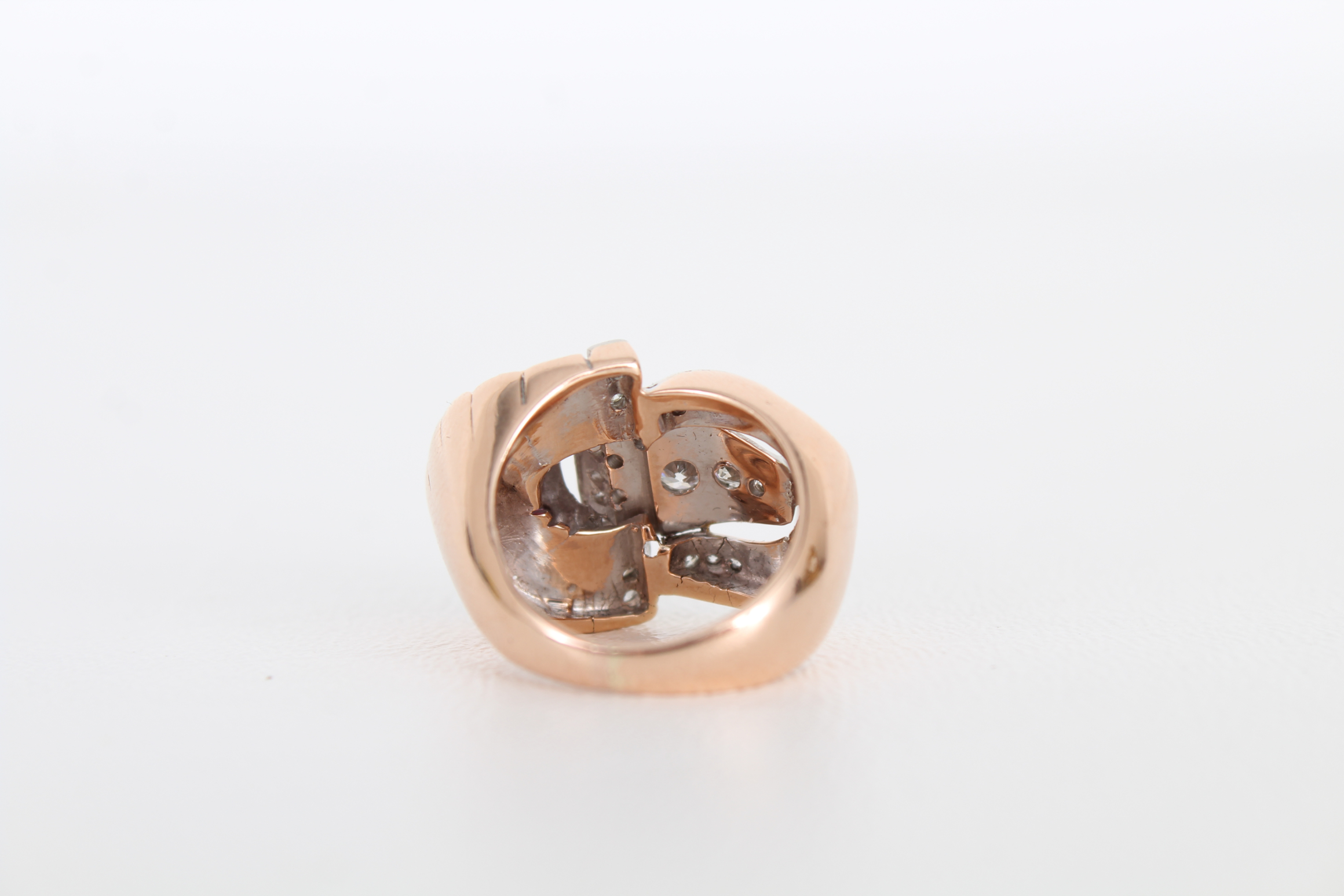 14K Ruby & Diamond Gold Ring - Image 6 of 7