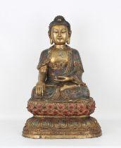 Important Chinese Cloisonne Buddha, Ex-Ringling