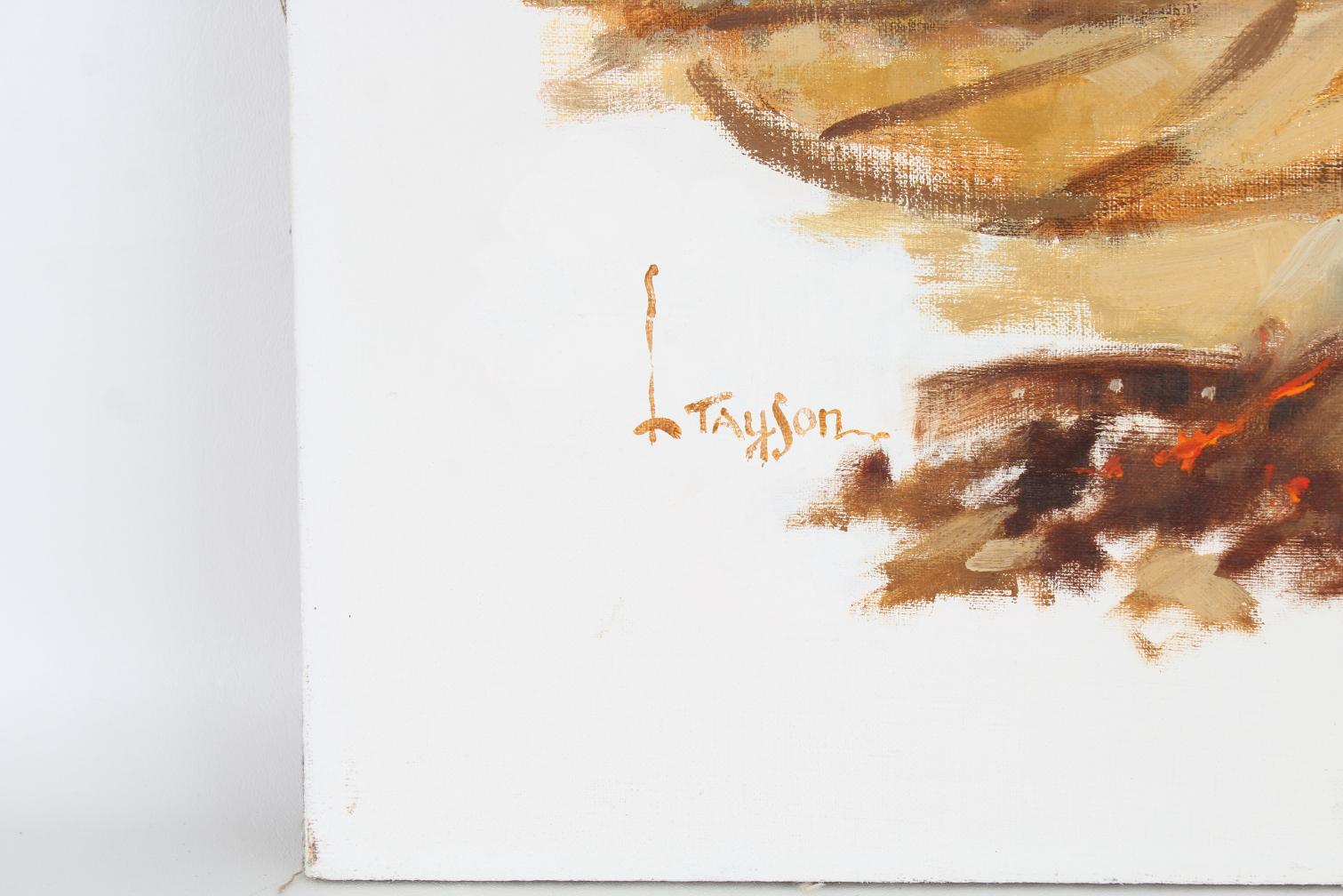 "Lyle Tayson (1924 - 2014) ""Wheelwright/Craftsmen"" - Image 3 of 5"