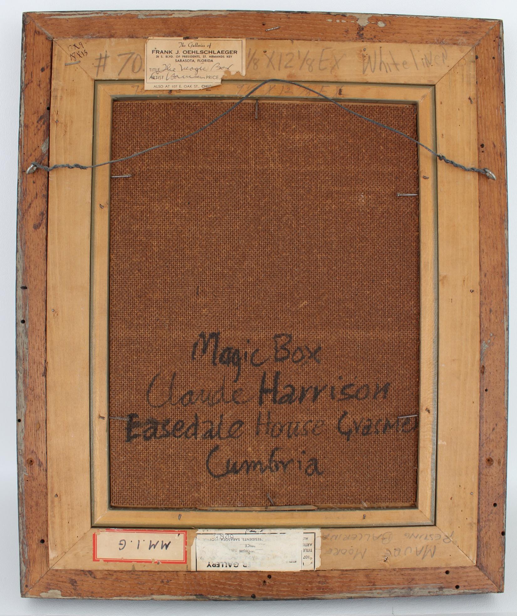 """Claude Harrison (UK, 1922 - 2009) """"Magic Box"""" - Image 4 of 5"""