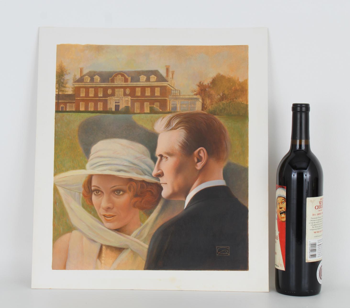 "Gregory Rudd (B. 1952) ""F. Scott Fitzgerald"" - Image 2 of 4"