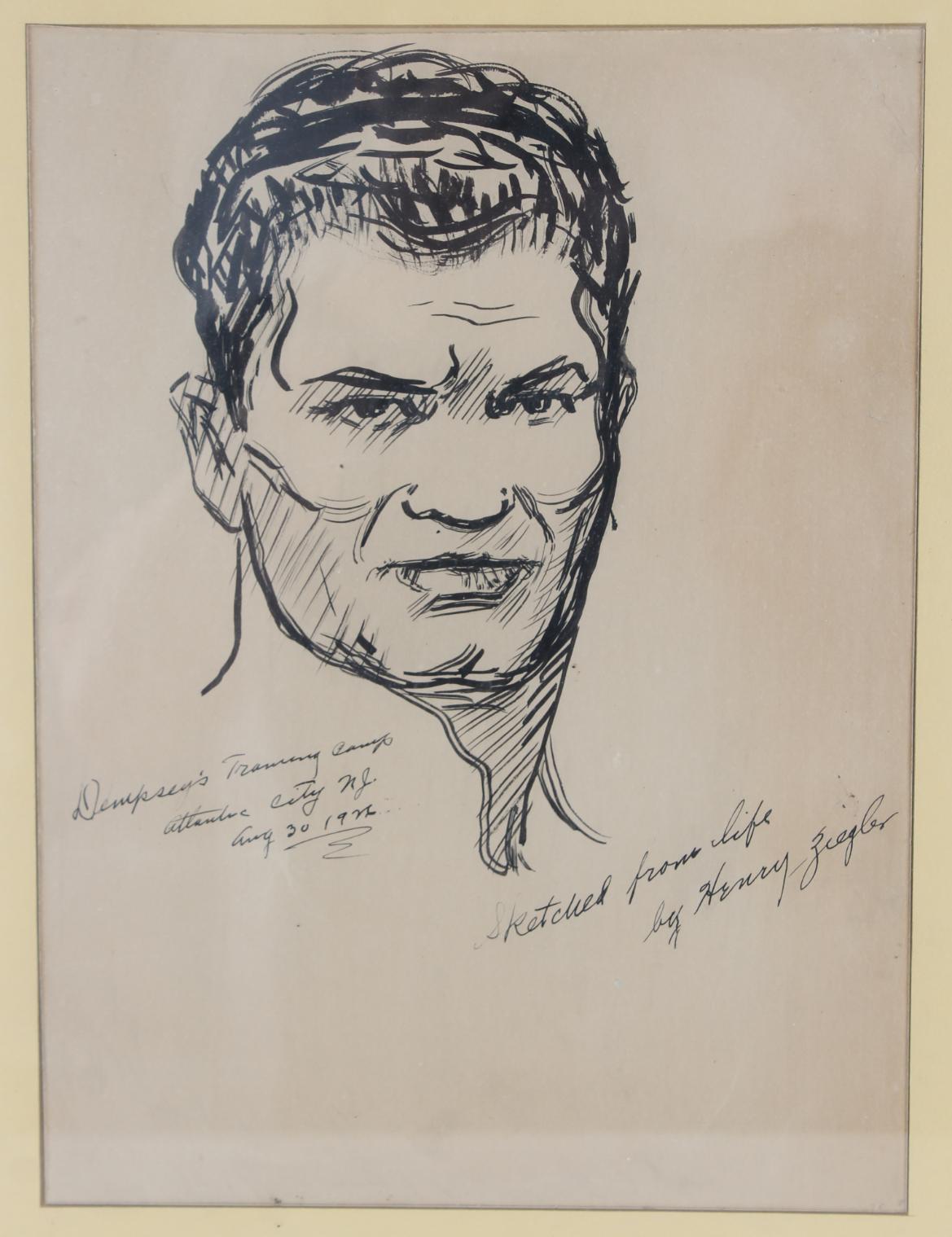 "Henry Ziegler (1889 - 1968) ""Jack Dempsey"" - Image 3 of 5"