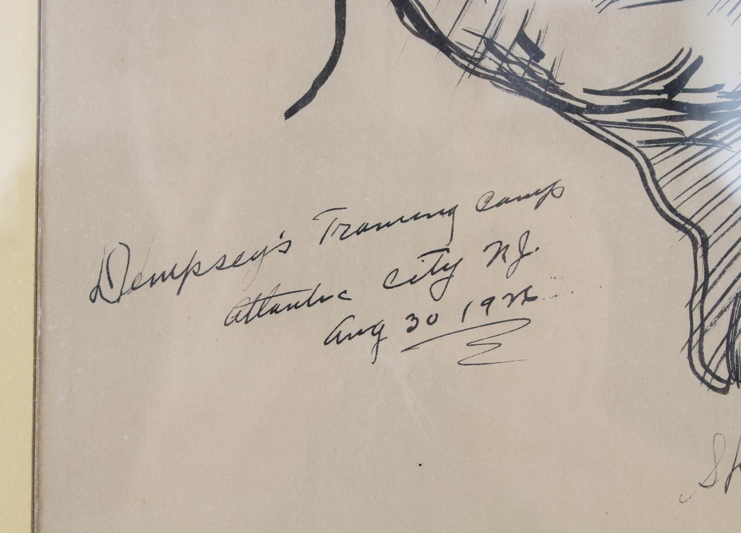 "Henry Ziegler (1889 - 1968) ""Jack Dempsey"" - Image 5 of 5"