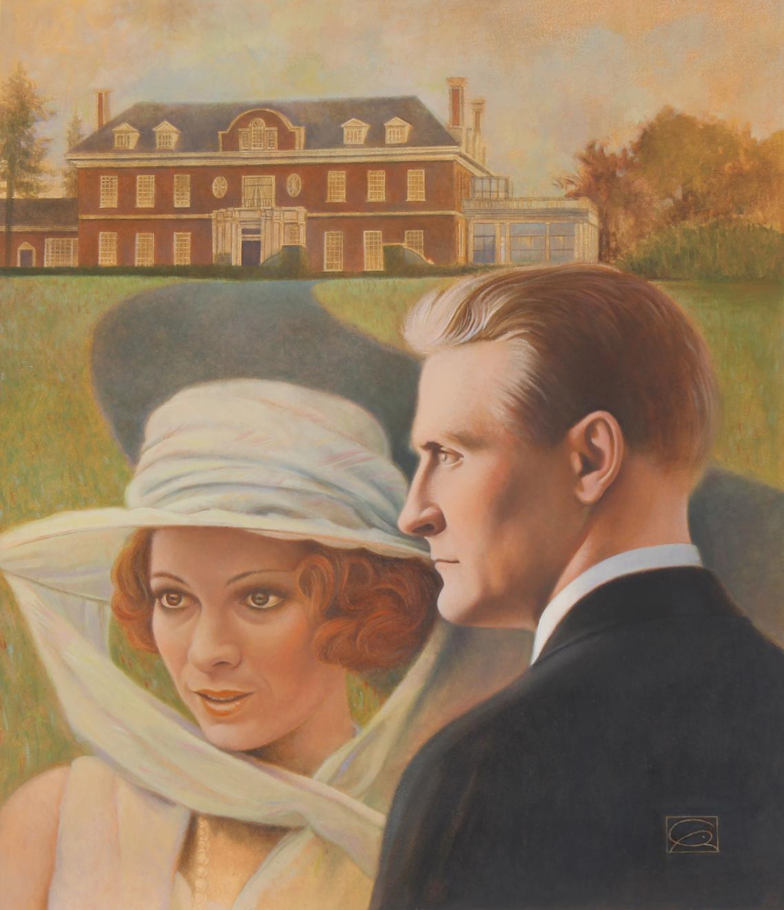 """Gregory Rudd (B. 1952) """"F. Scott Fitzgerald"""""""