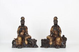 Important Chinese Bodhisattvas, Ex-Ringling Museum
