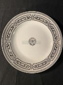 CANADIAN PACIFIC: Canadian Pacific Railway Minton ceramic dinner plate, believed recovered from