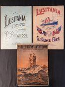 R.M.S. LUSITANIA: Original memorial sheet music. (3)