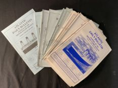 R.M.S. TITANIC: Large collection of, approx. 60, British Titanic Society magazines, from 1994-