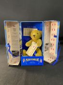 R.M.S. TITANIC: Limited edition, boxed Merrythought Titanic Bear. 6½ins.