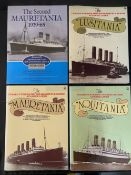 BOOKS: Hard bound reference volumes relating to Ocean Liners, including numerous by Mark Warren. (