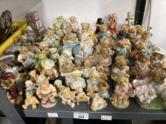 Collectables: Large collection of cherished Teddies. Approx. 70.