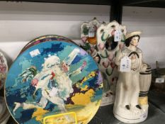 19th/20th cent. Ceramics: Royal Doulton Series ware plates, The Jester, The Parson, The Doctor,