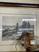 Pictures & Prints: Mixed collection to include Meissonier, Celia Lyttleton, Laura Knight, etc.