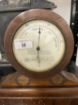 Clocks & Barometers: 19th cent. and later, mixed lot (8).