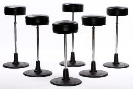 6er Set Barstool No.1, 'CLASSICON', made in Germany,